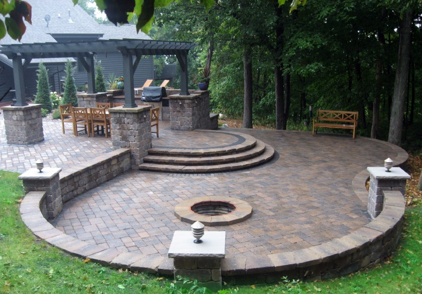 Patios, Pergolas and Fire Pits - Patios, Pergolas And Fire Pits Stuart's Landscaping & Garden Center